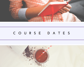 Nutritionist courses dates