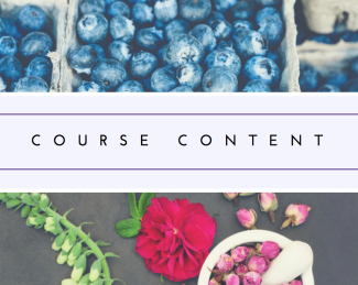 Nutrition and homeopathy course content
