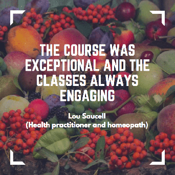 Lou Saucell about homeopathy courses