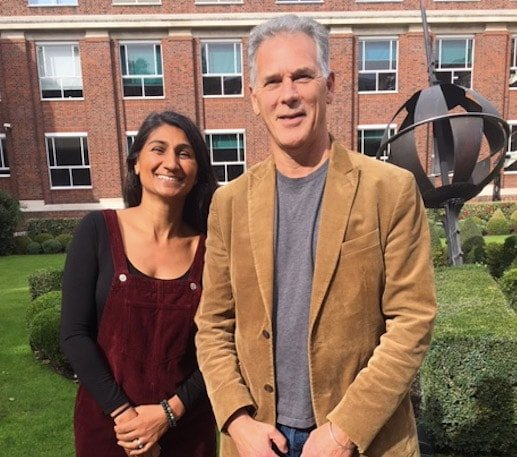 Khush and Gordon, Co-principals of Nutrition College - The College of Integrated Nutrition and Homeopathy