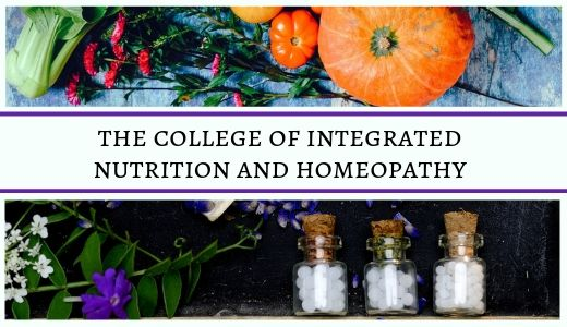 Why choose the Integrated College of Nutrition and Homeopathy?