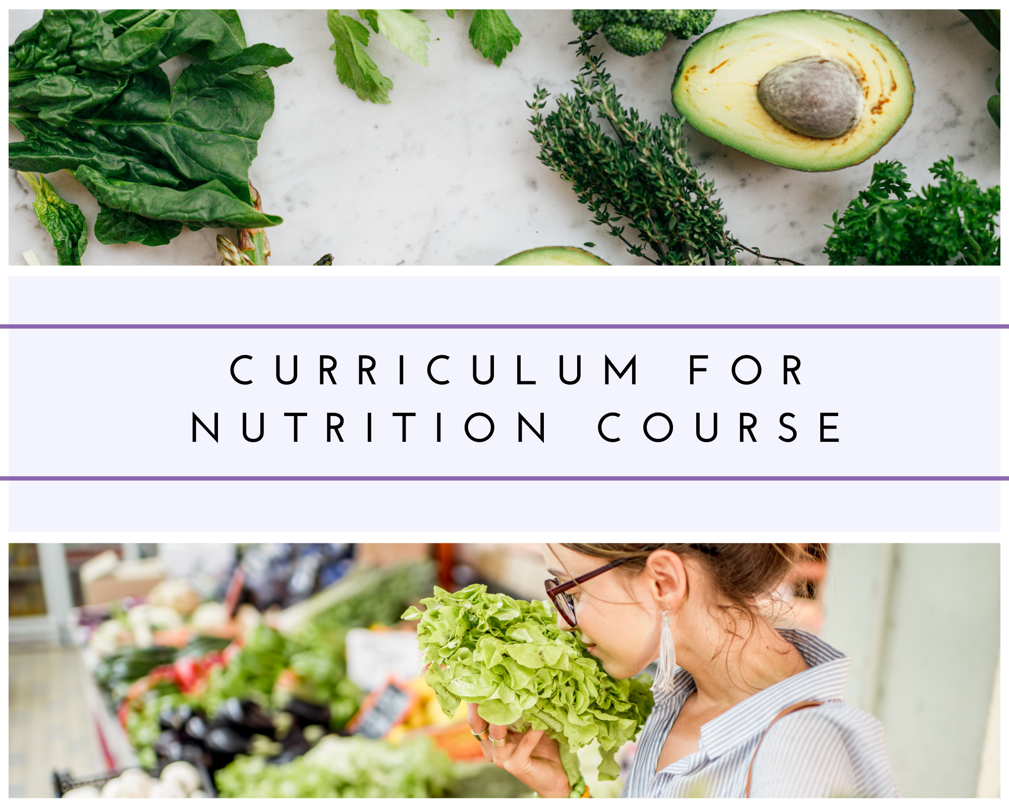 CURRICULUM FOR NUTRITION COURSE
