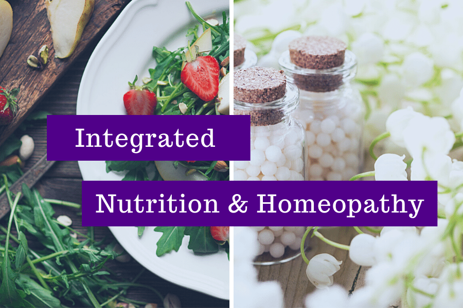 Integrated nutrition and homeopathy online course