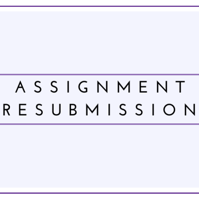 Assignment Resubmission Students