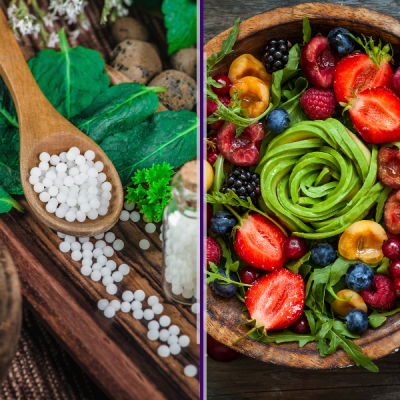 nutrition and homeopathy
